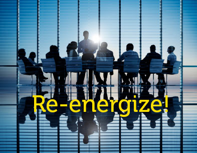 Re-energize your board service
